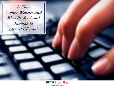 Is Your Writer Website and Blog Professional Enough to Attract Clien