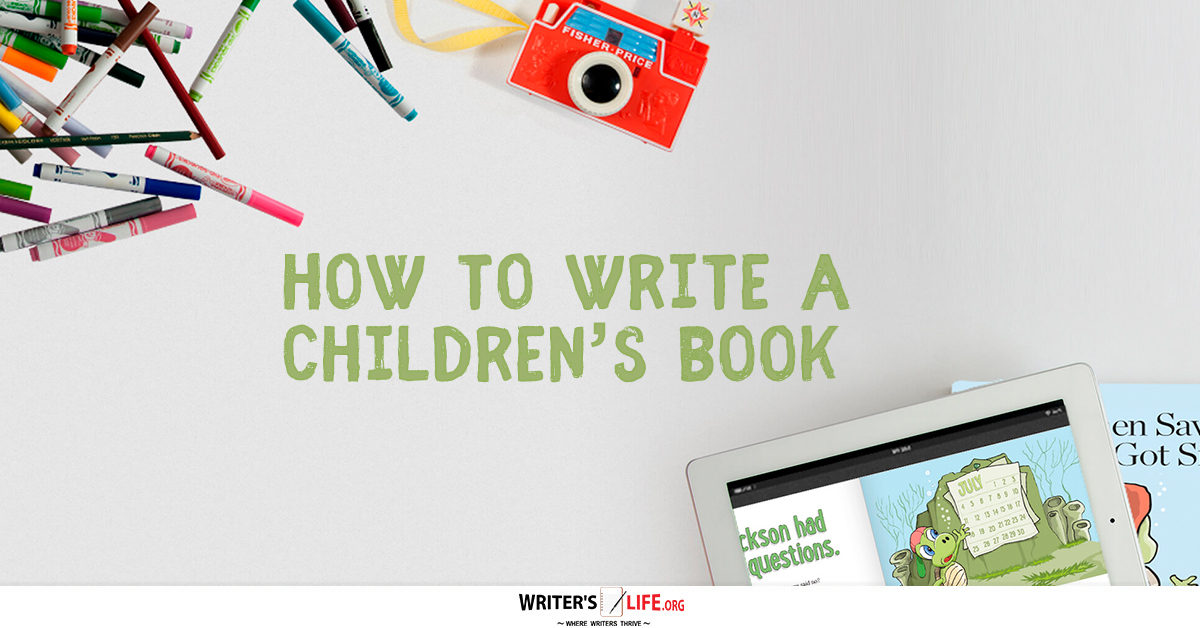 how to write a book videos for kids
