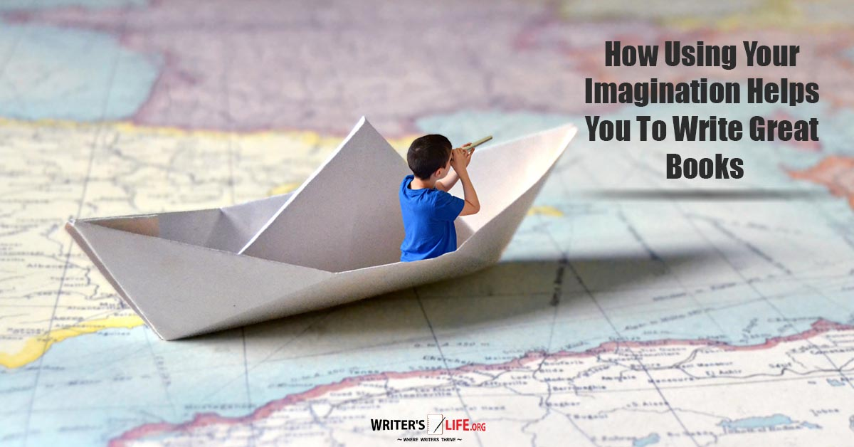 How To Make A Book About Your Life : How using your imagination helps you to write great books