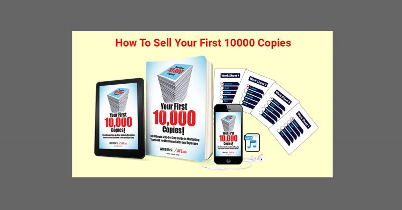 How to Sell Your First 10,000 Books