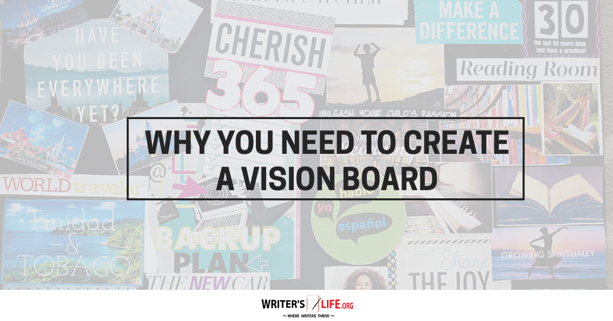 Need Create Vision Board on How To Write A Book And Get It Published